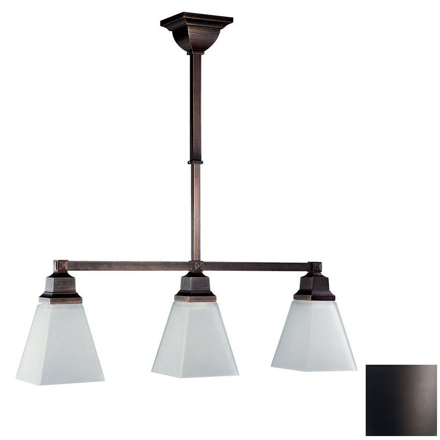 oil rubbed bronze kitchen lighting shop dvi 5 50 in w 3 light rubbed bronze 7150