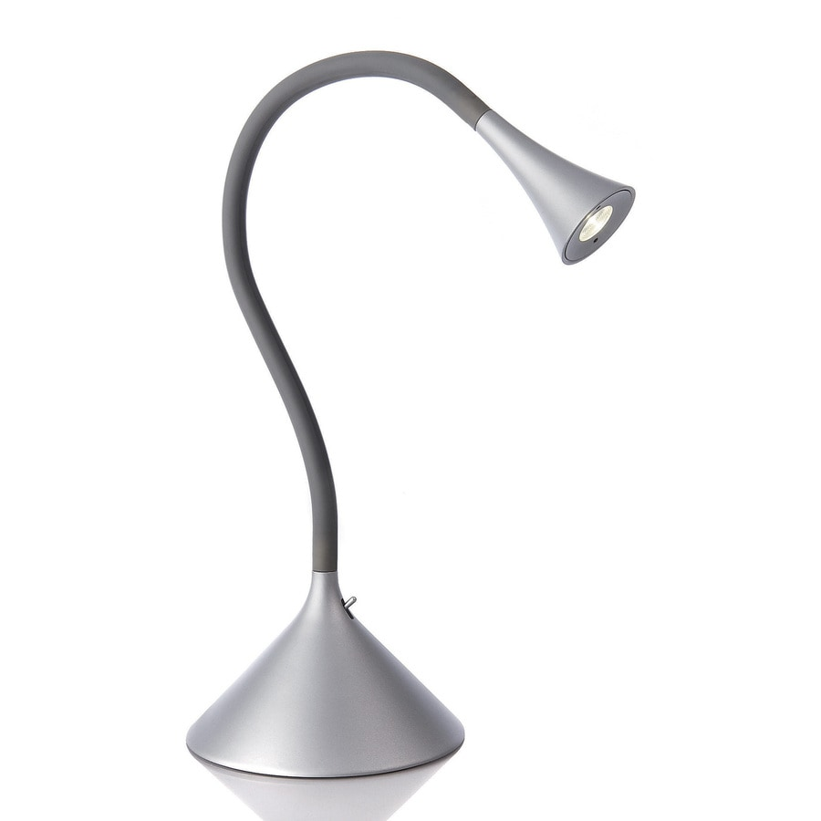 Philips Ledino 20 07 In Adjustable Grey Led Desk Lamp With