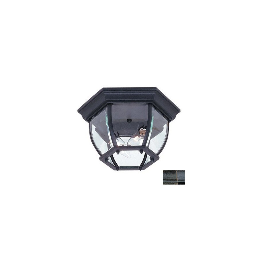 Artcraft Lighting Classico 10-3/4-in Outdoor Flush Mount Light