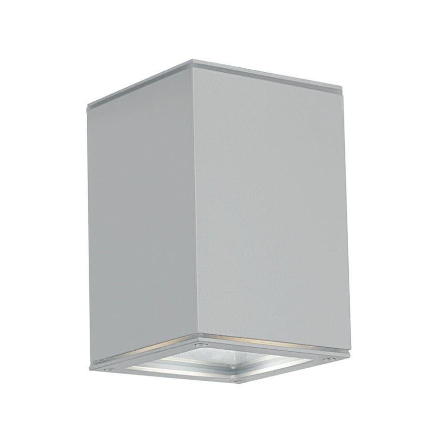 EGLO Tabo 14-in Aluminum Outdoor Flush Mount Light