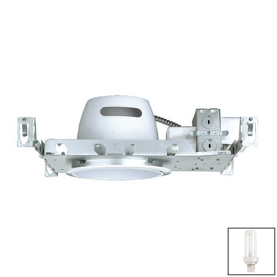 Nicor Lighting 6-in New Construction CFL Recessed Light Housing