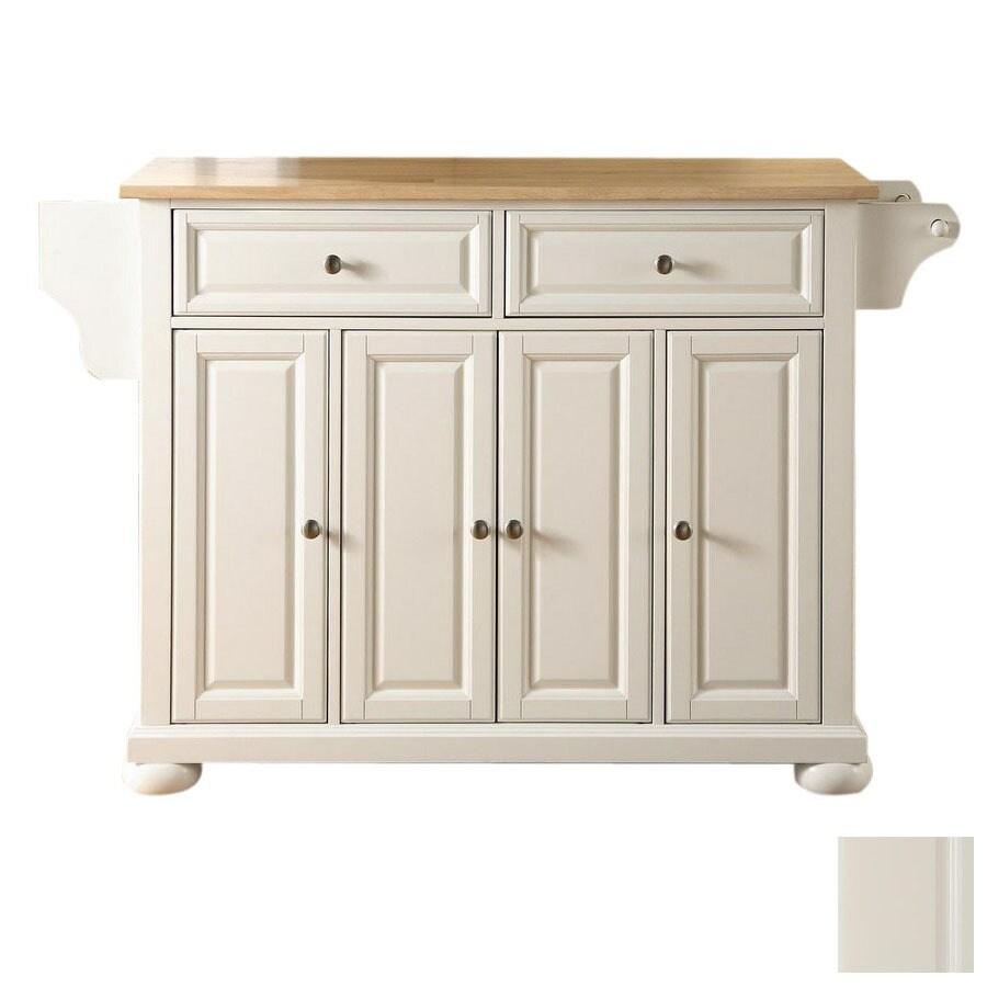 Shop Crosley Furniture 52-in L X 18-in W X 34-in H White