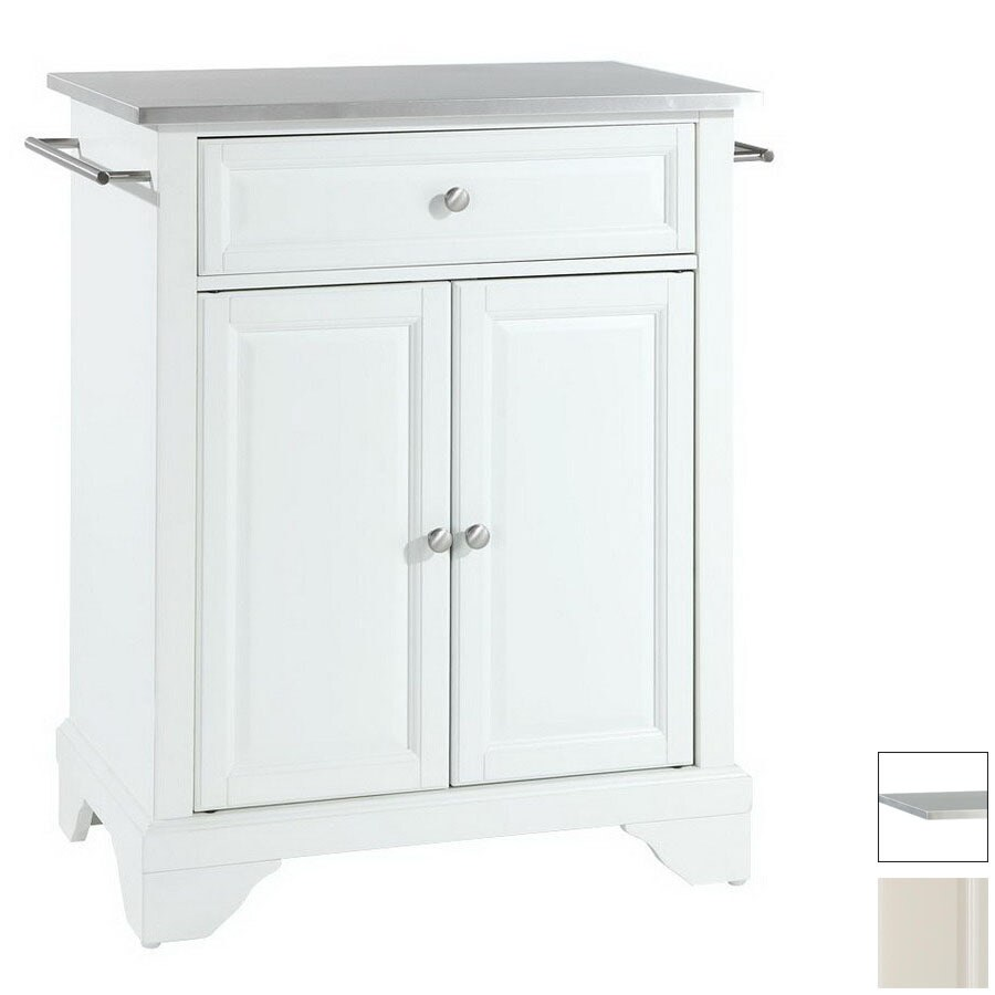 Crosley Furniture 28-1/4-in L X 18-in W X 36-in H White