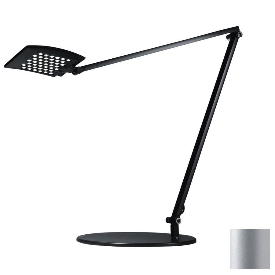 Koncept Tech LED 39.1-in Adjustable Silver LED Touch Desk Lamp