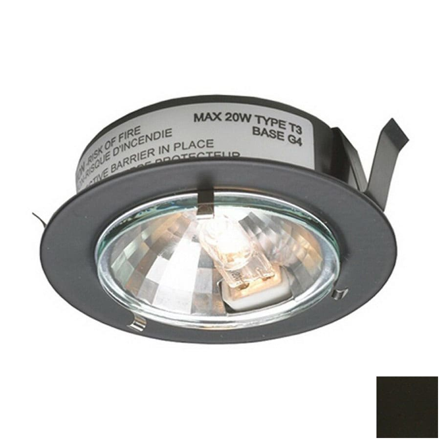Delightful DALS Lighting 2.625 In Hardwired/Plug In Under Cabinet Halogen Puck Light