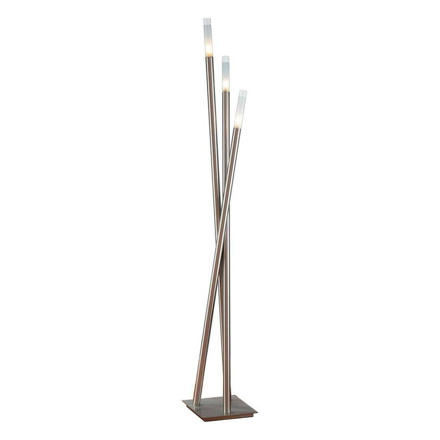 Lumisource Icicle 67-in Brushed metal Multi-head Floor Lamp