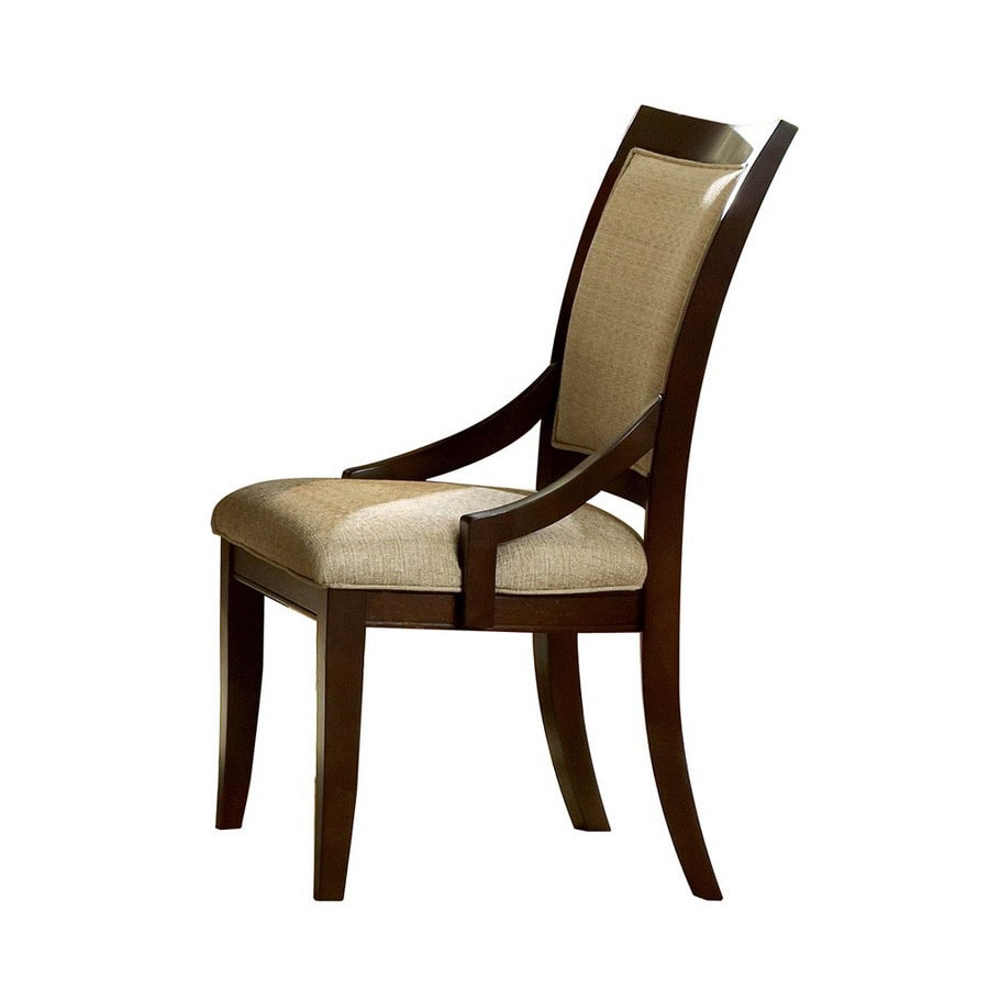 Homelegance Set of 2 Bexley Dark Cherry Arm Chairs