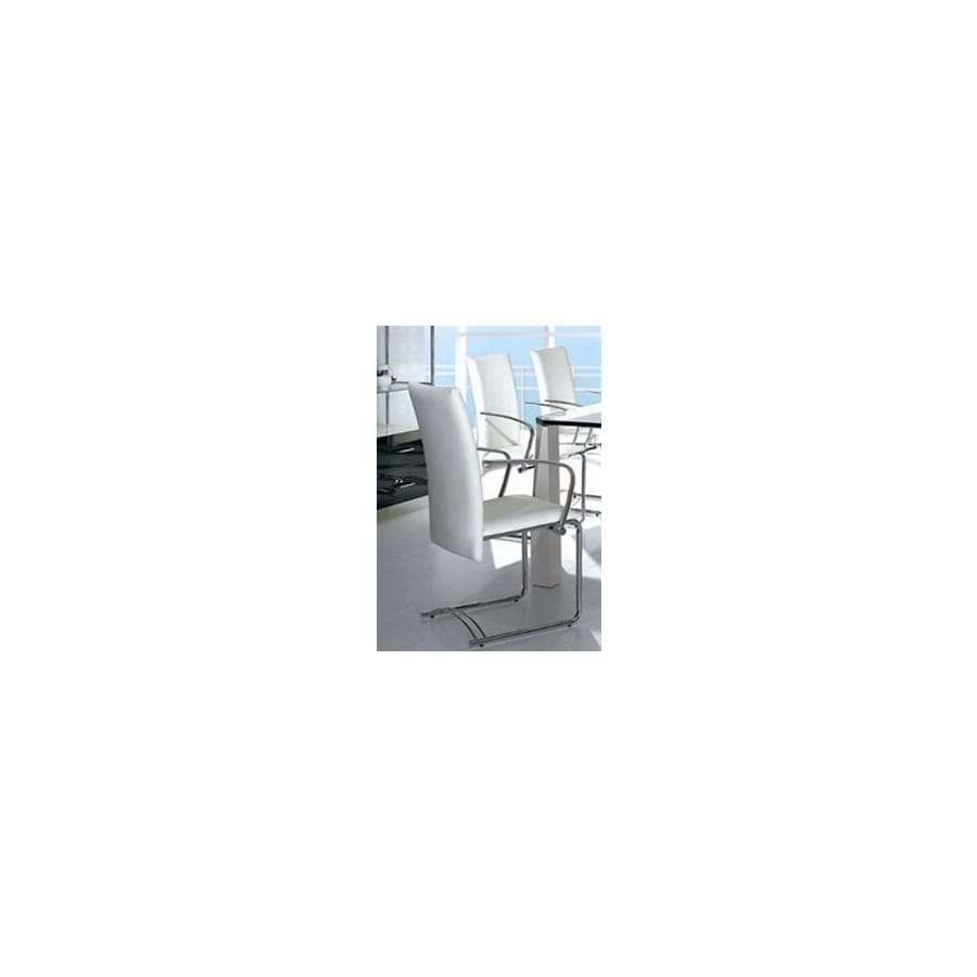 EHO Studios Set of 4 Steel Dining Chairs