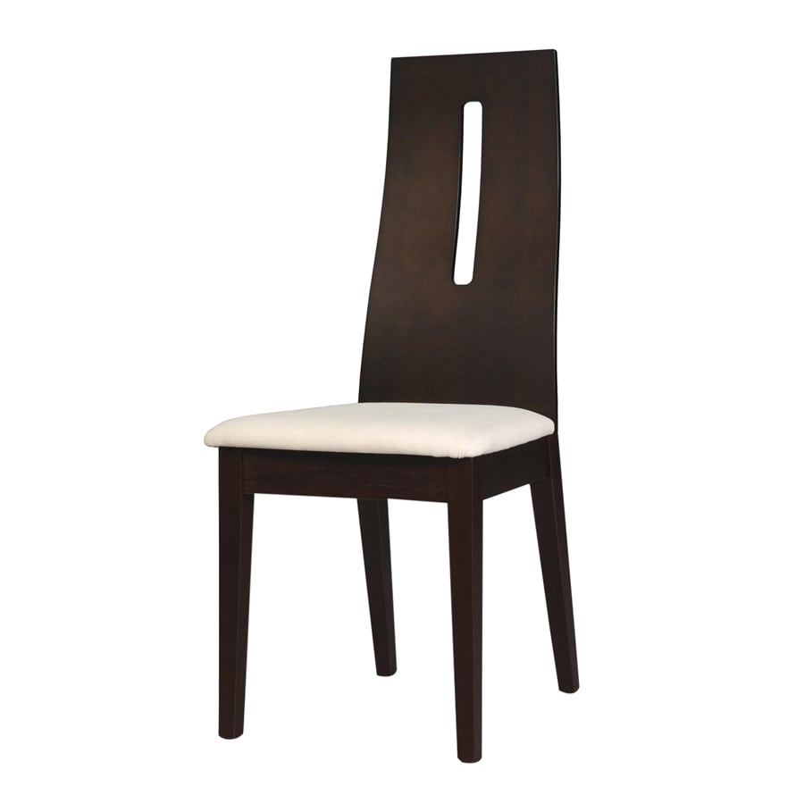 New Spec Set of 2 Dark Walnut Side Chairs