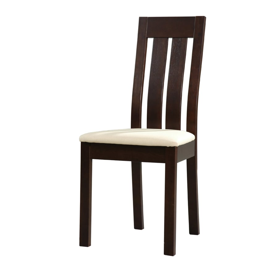 New Spec Set of 2 Dark Walnut Side Chairs