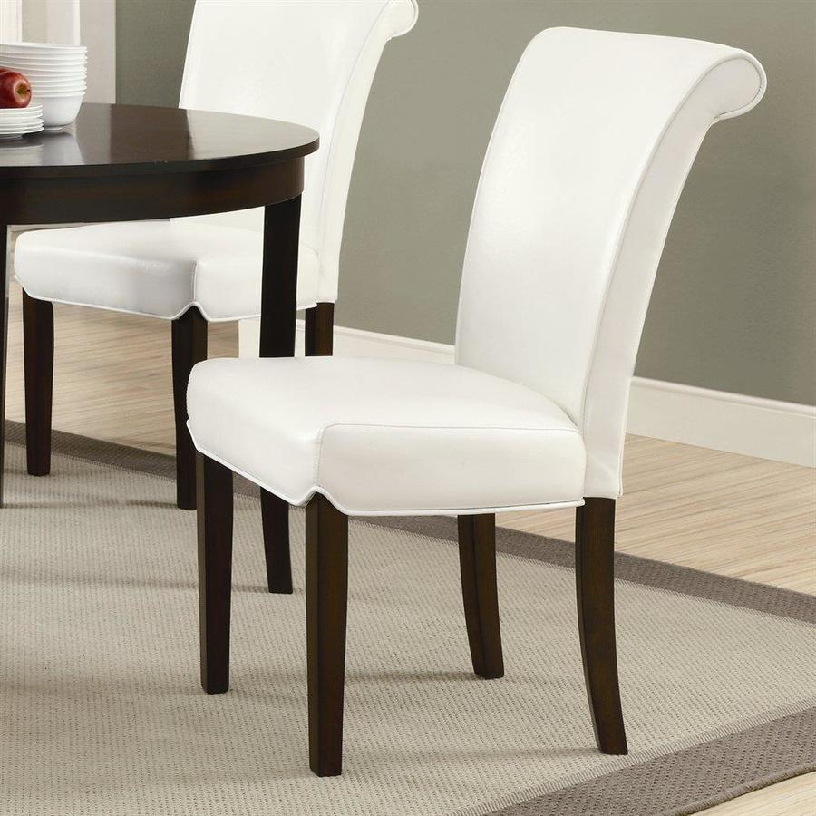 Monarch Specialties Set of 2 Taupe Side Chairs