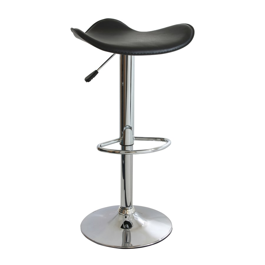 Buffalo Amerihome Polished Chrome 31.5-in Adjustable Stool