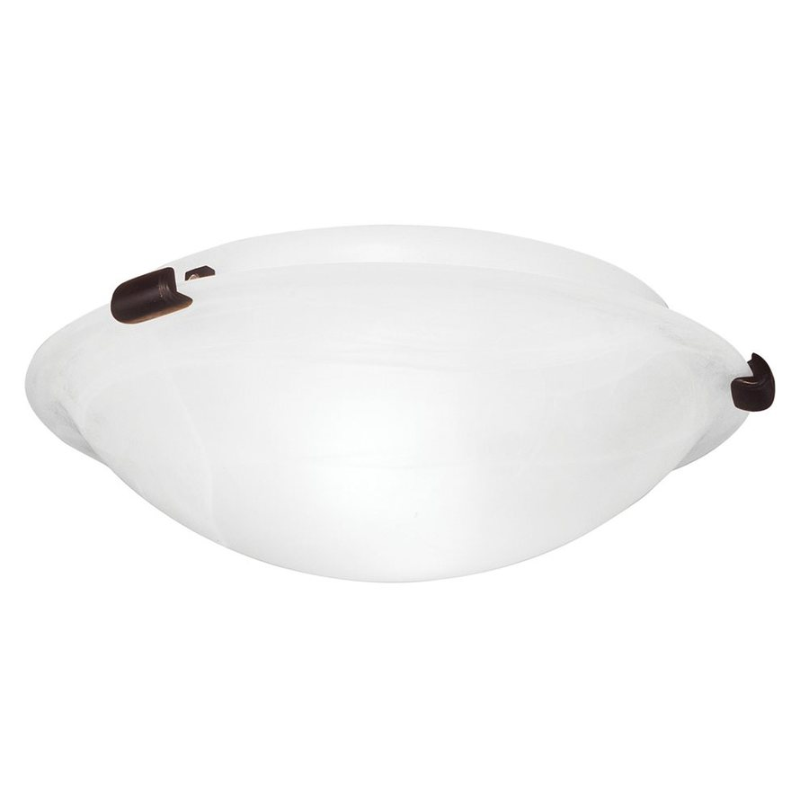 Livex Lighting Oasis 20.5-in W Bronze Flush Mount Light