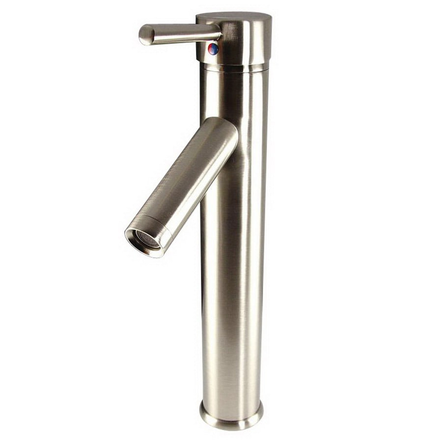Fresca Soana Brushed Nickel 1-Handle Single Hole Bathroom Faucet