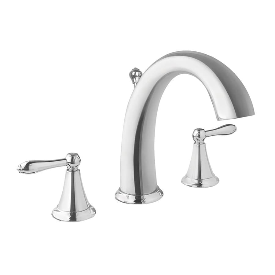 Virtu USA Alexis Polished Chrome 2-Handle Widespread Bathroom Faucet