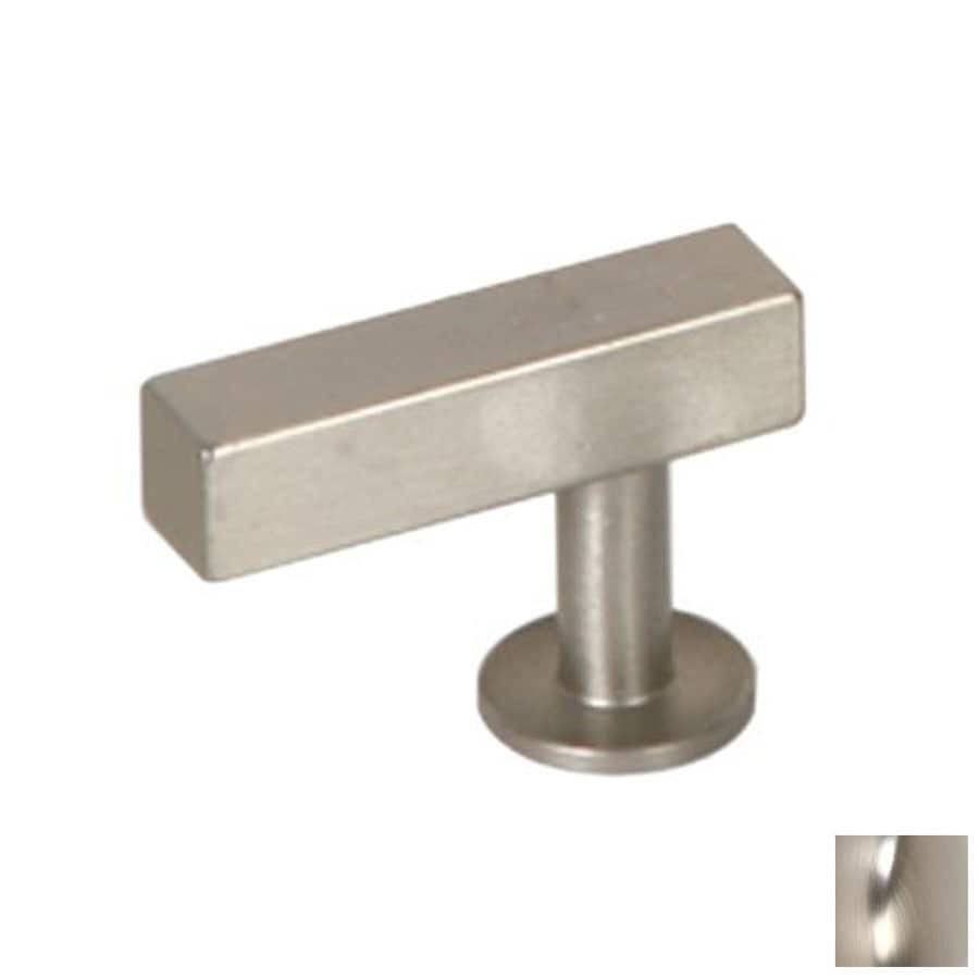 Genial Lewu0027s Hardware Bar Brushed Nickel Rectangular Cabinet Knob