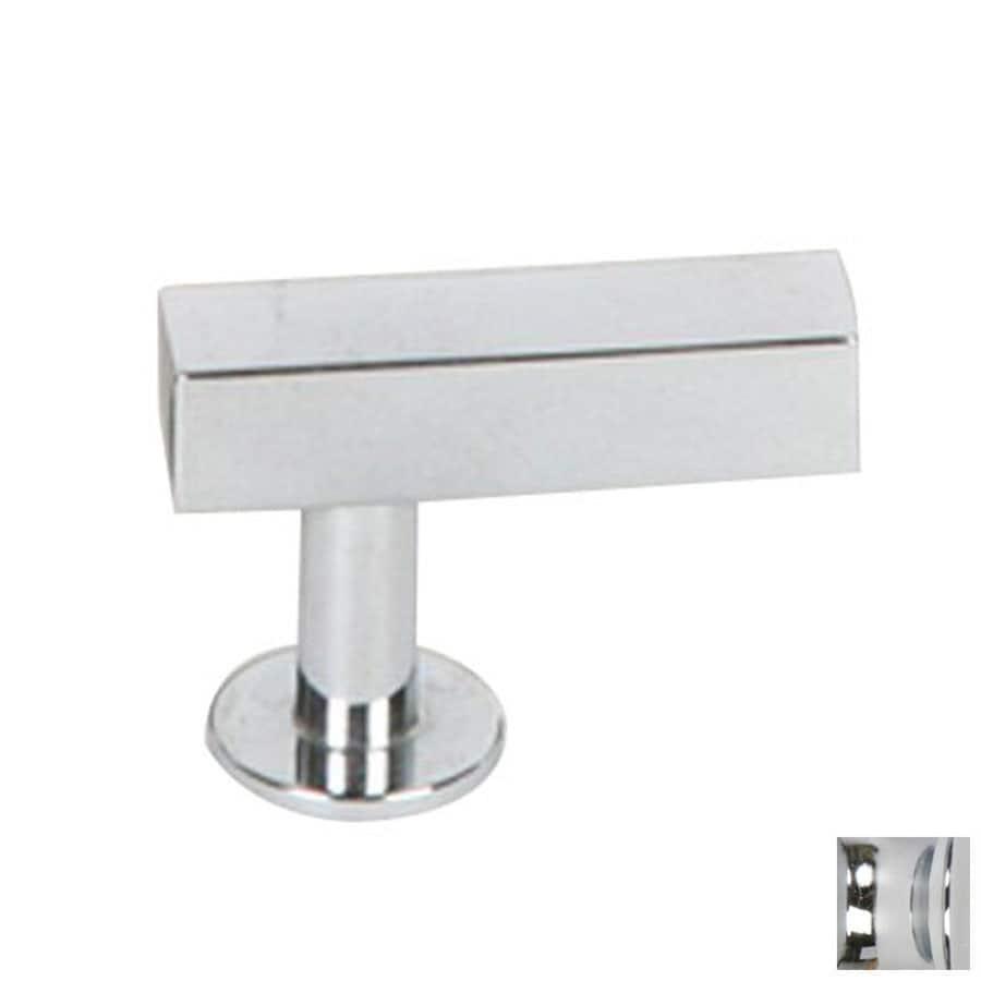 Lew's Hardware Polished Chrome Bar Series Rectangular Cabinet Knob