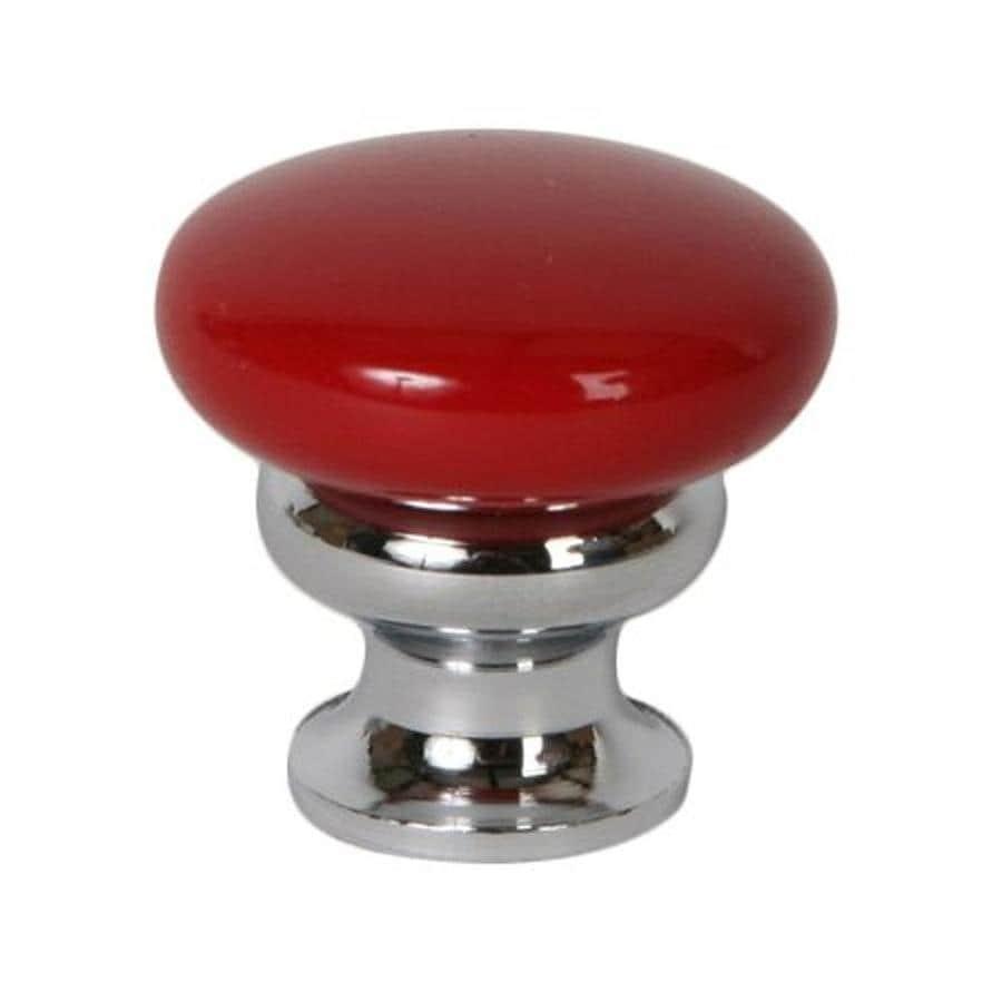 Lew's Hardware Metal Mushroom Polished Chrome Mushroom Cabinet Knob