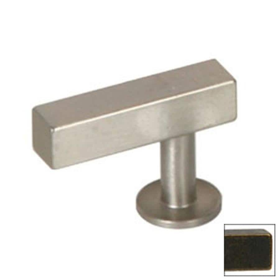 Lew's Hardware Oil-Rubbed Bronze Bar Series Rectangular Cabinet Knob