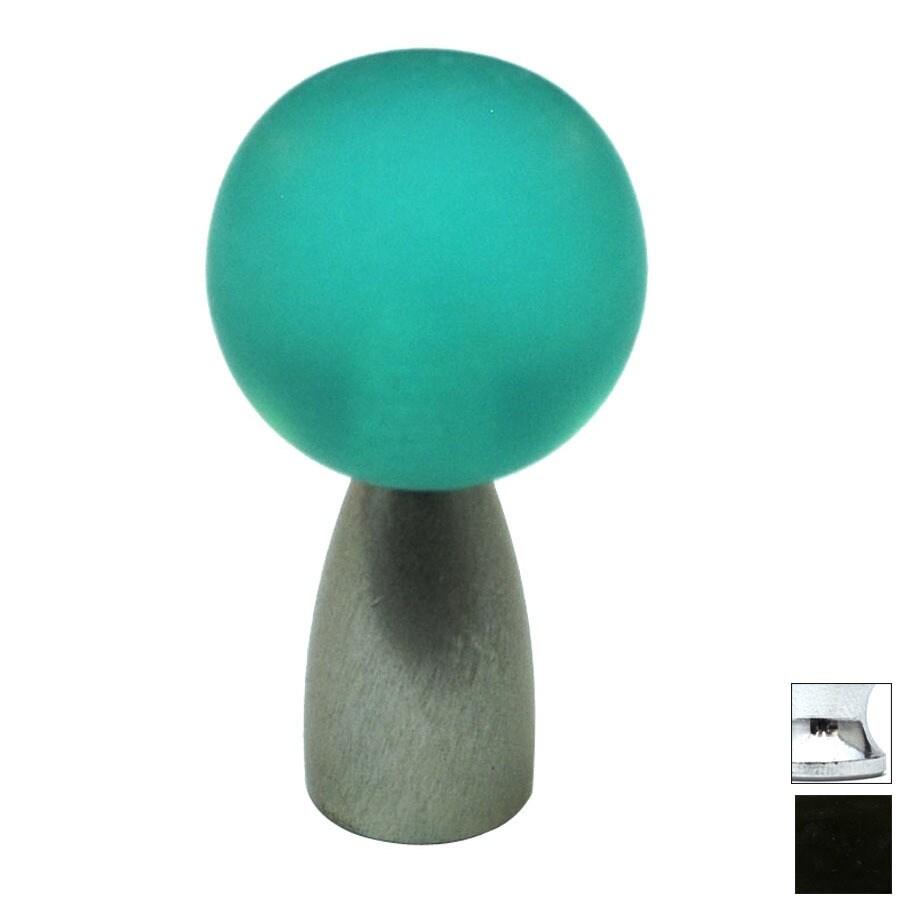Cal Crystal Polished Chrome Athens Globe Cabinet Knob