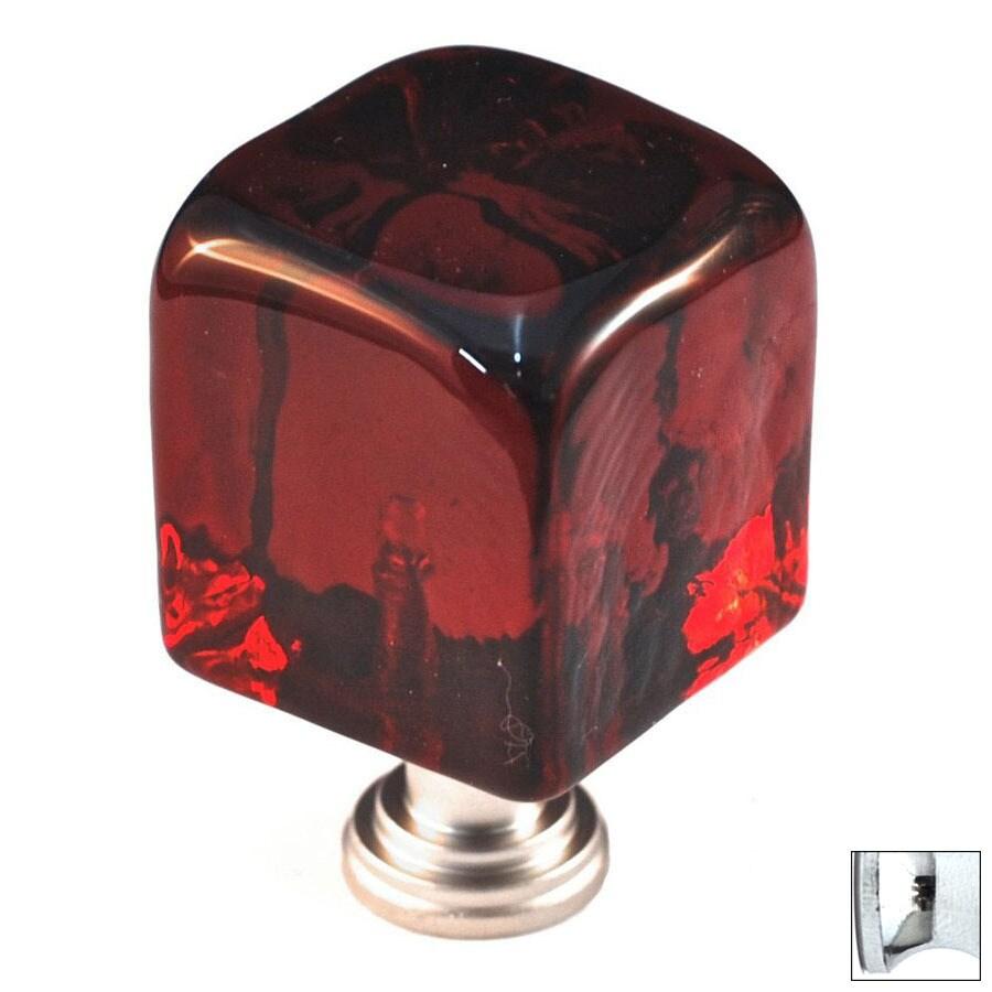 Cal Crystal Polished Chrome Artx Square Cabinet Knob
