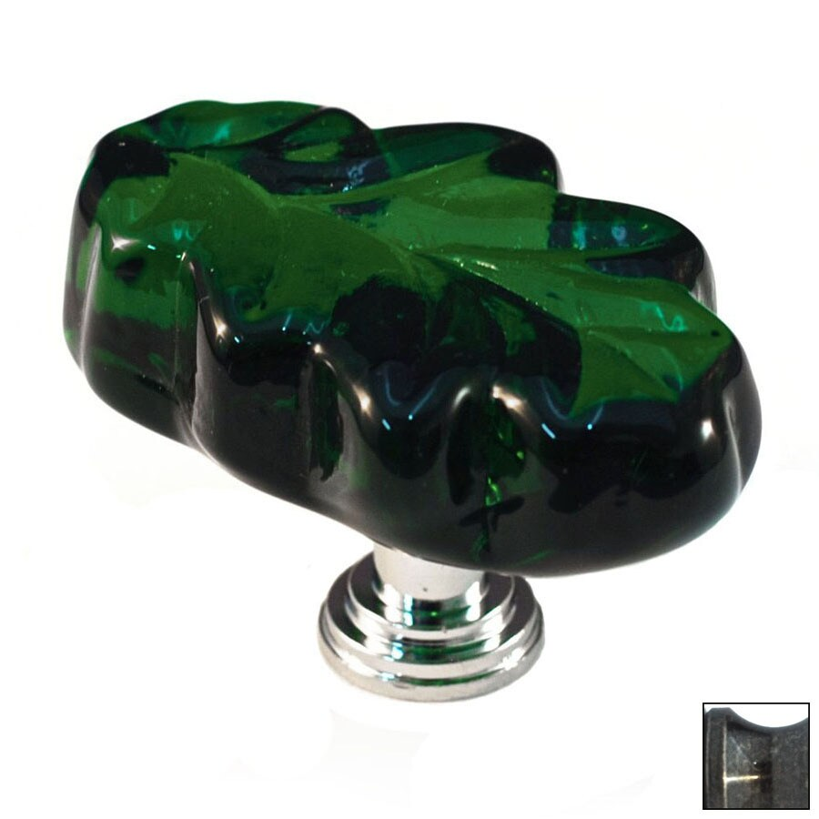 Cal Crystal Antique Brass Artx Novelty Cabinet Knob