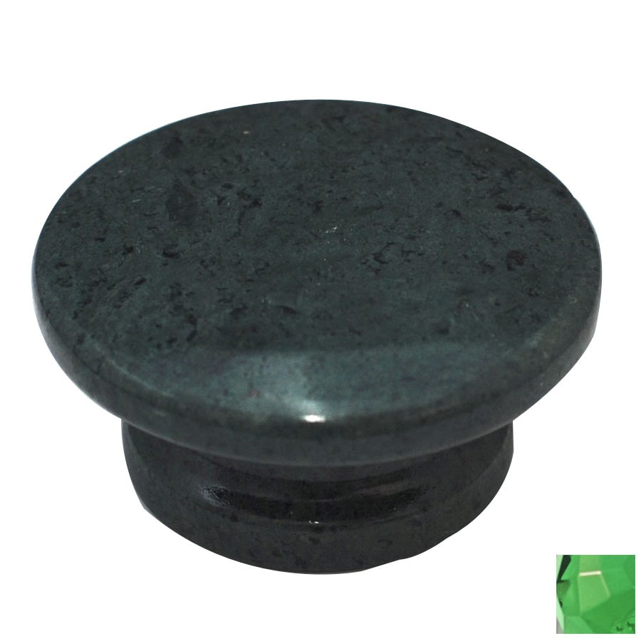 Round Green Marble : Shop cal crystal marble green round cabinet knob at lowes