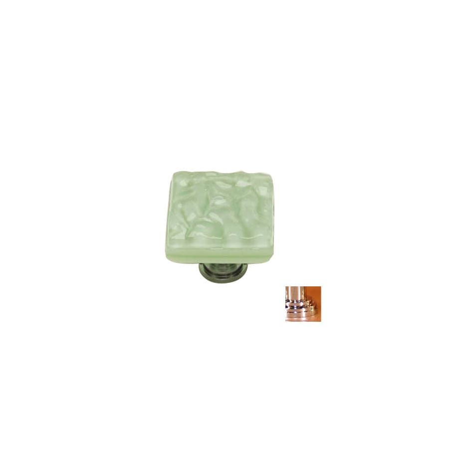 Sietto 1-1/4-in Polished Chrome Glacier Square Cabinet Knob