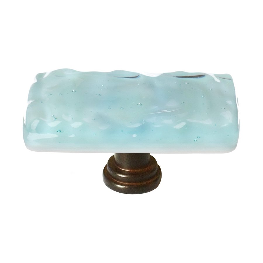 Sietto Oil-Rubbed Bronze Glacier Rectangular Cabinet Knob