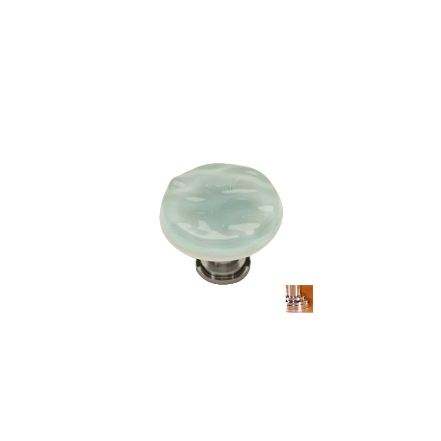 Sietto 1-1/4-in Polished Chrome Glacier Round Cabinet Knob
