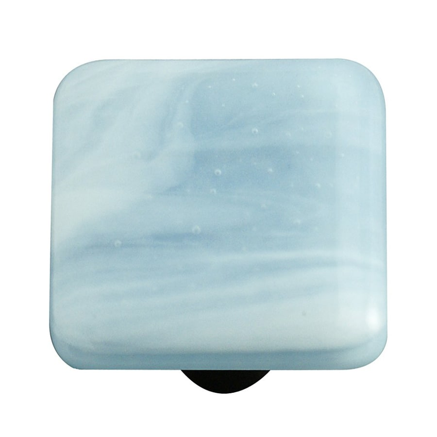 Hot Knobs Swirl Aluminum Square Cabinet Knob