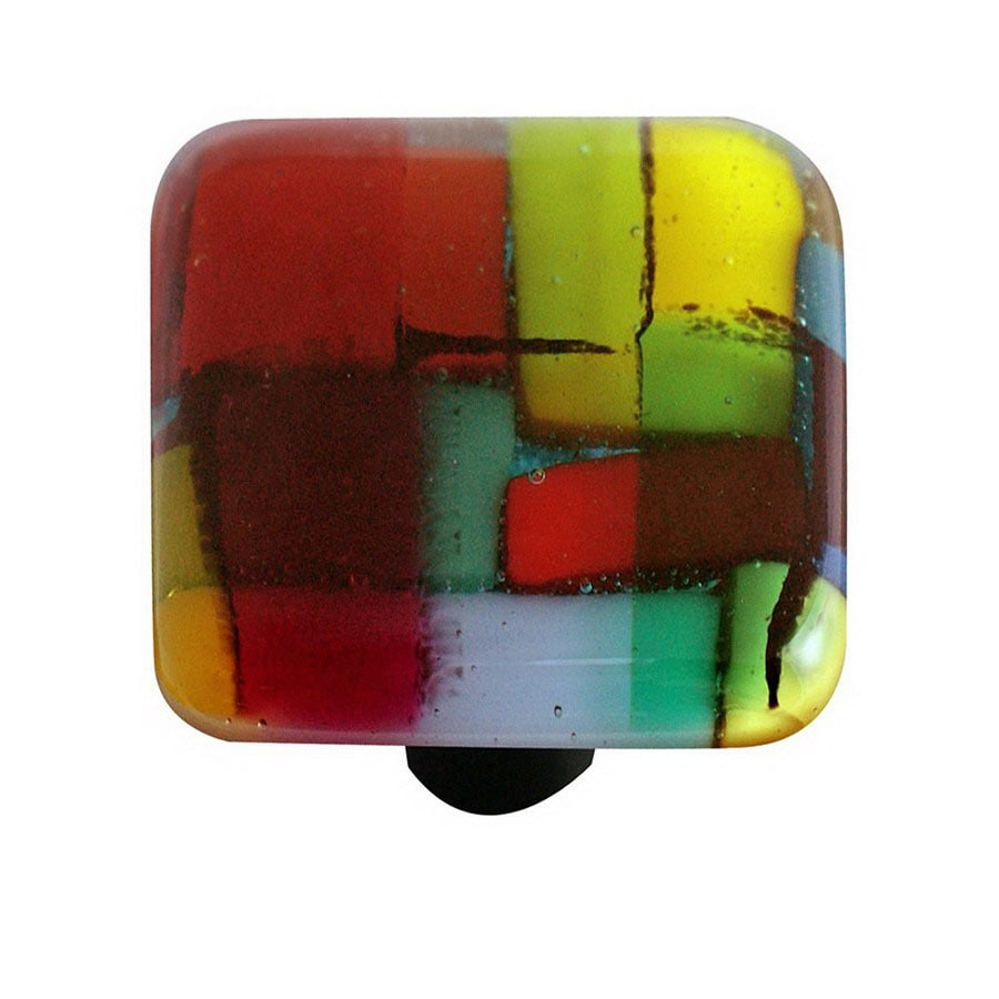 Hot Knobs Mosaic Aluminum Square Cabinet Knob