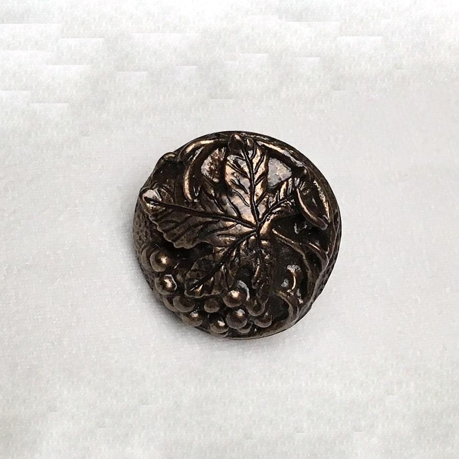 D'Artefax Grapevine Antique Bronze Novelty Cabinet Knob
