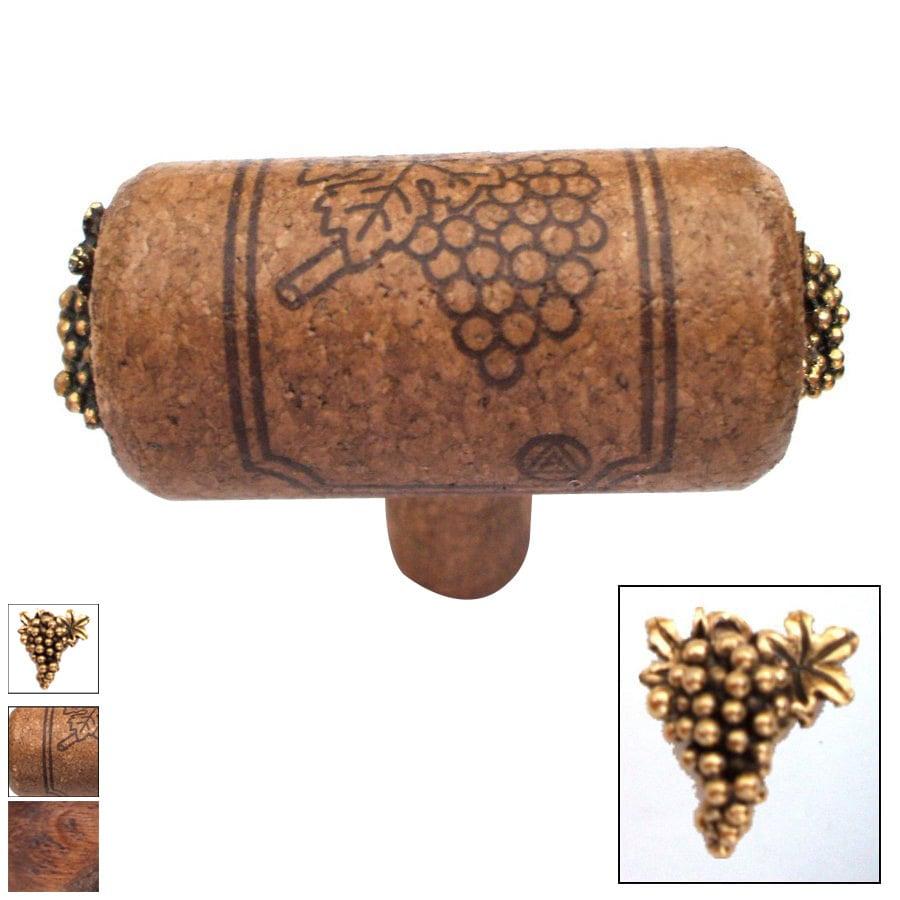 Vine Designs Vineyard Espresso Novelty Cabinet Knob