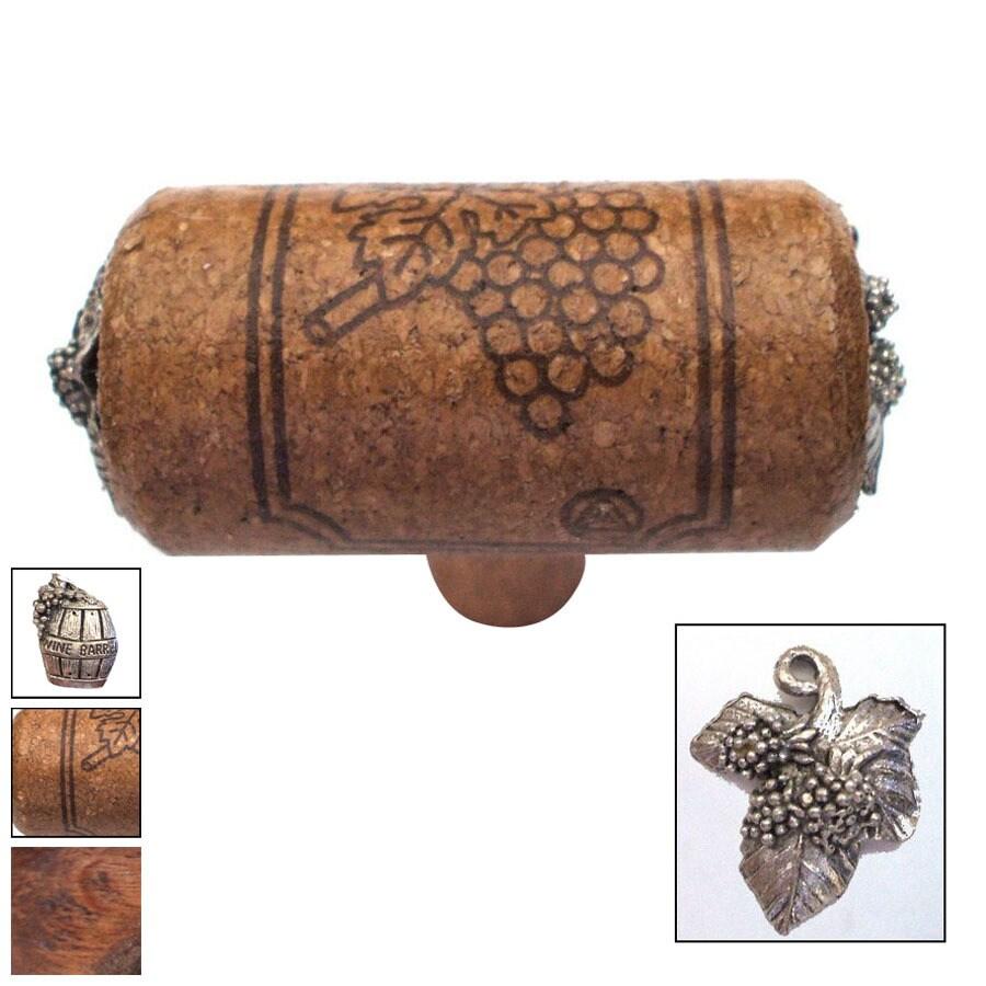 Vine Designs 2-1/8-in Espresso Vineyard Novelty Cabinet Knob