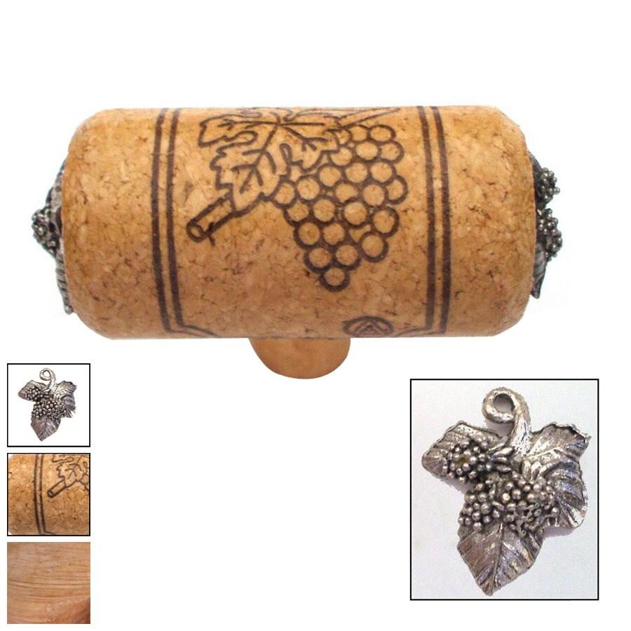 Vine Designs 2-1/8-in Oak Vineyard Novelty Cabinet Knob
