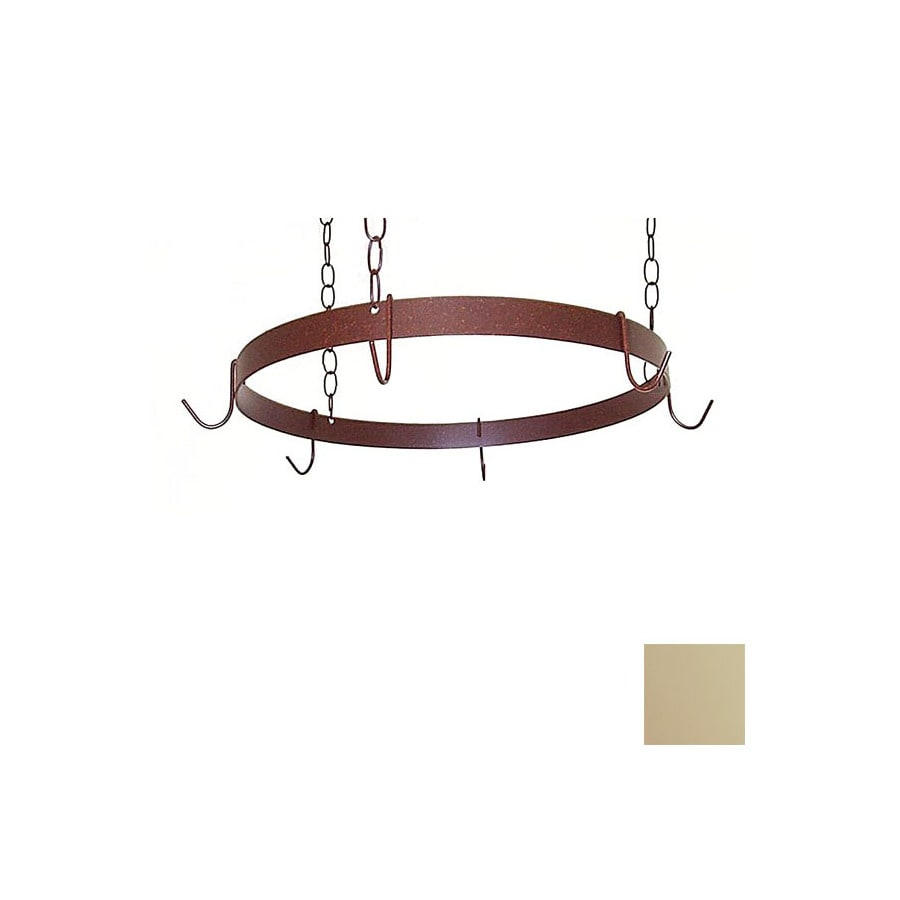 Grace Collection 20-in x 20-in Stone Round Pot Rack