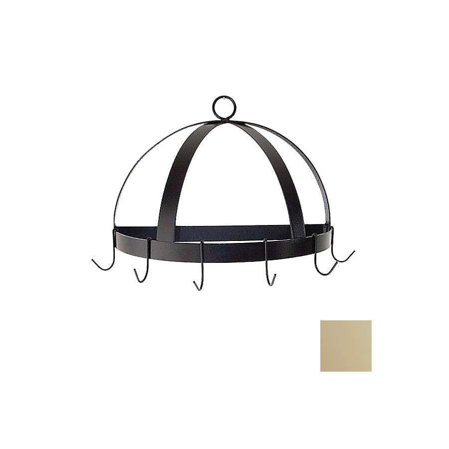 Grace Collection 20-in x 10-in Stone Half Dome Pot Rack