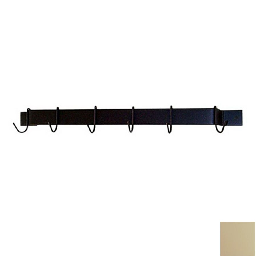 Grace Collection 24-in x 3-in Stone Bar Pot Rack