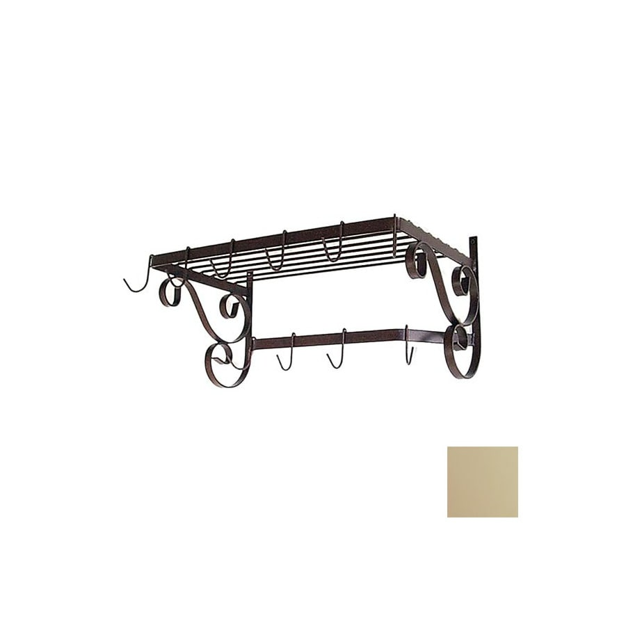 Grace Collection 24-1/2-in x 13-in Stone Rectangle Pot Rack