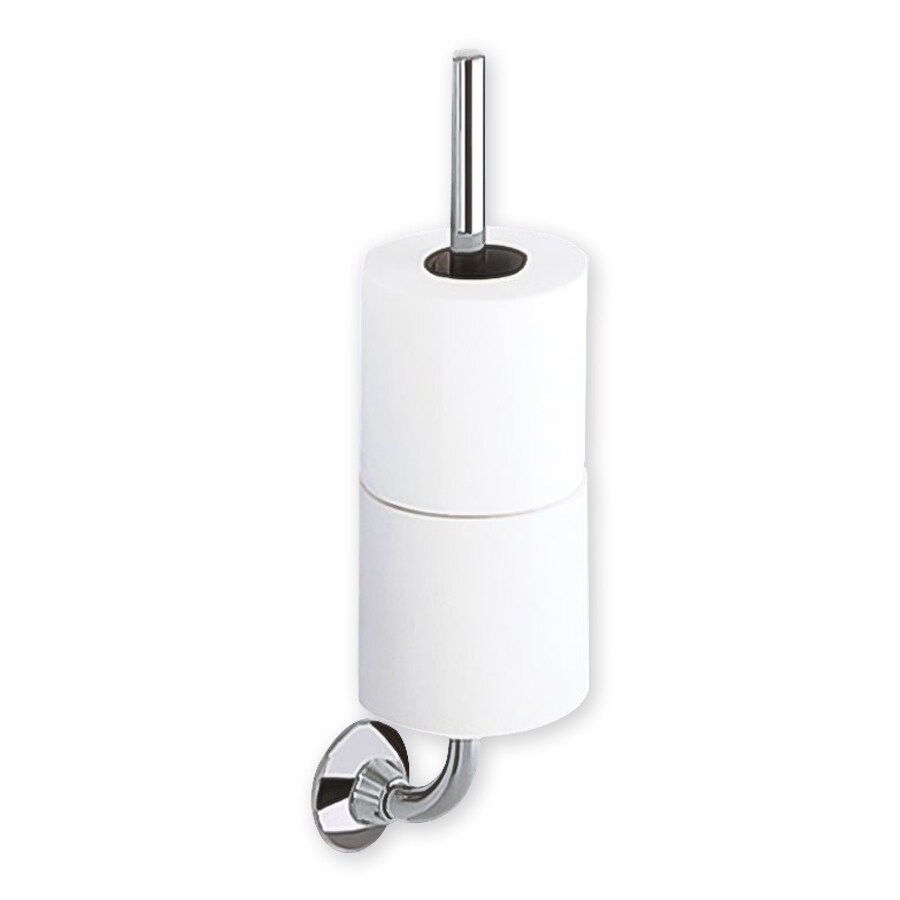 Nameeks Ascot Chrome Surface Mount Toilet Paper Holder