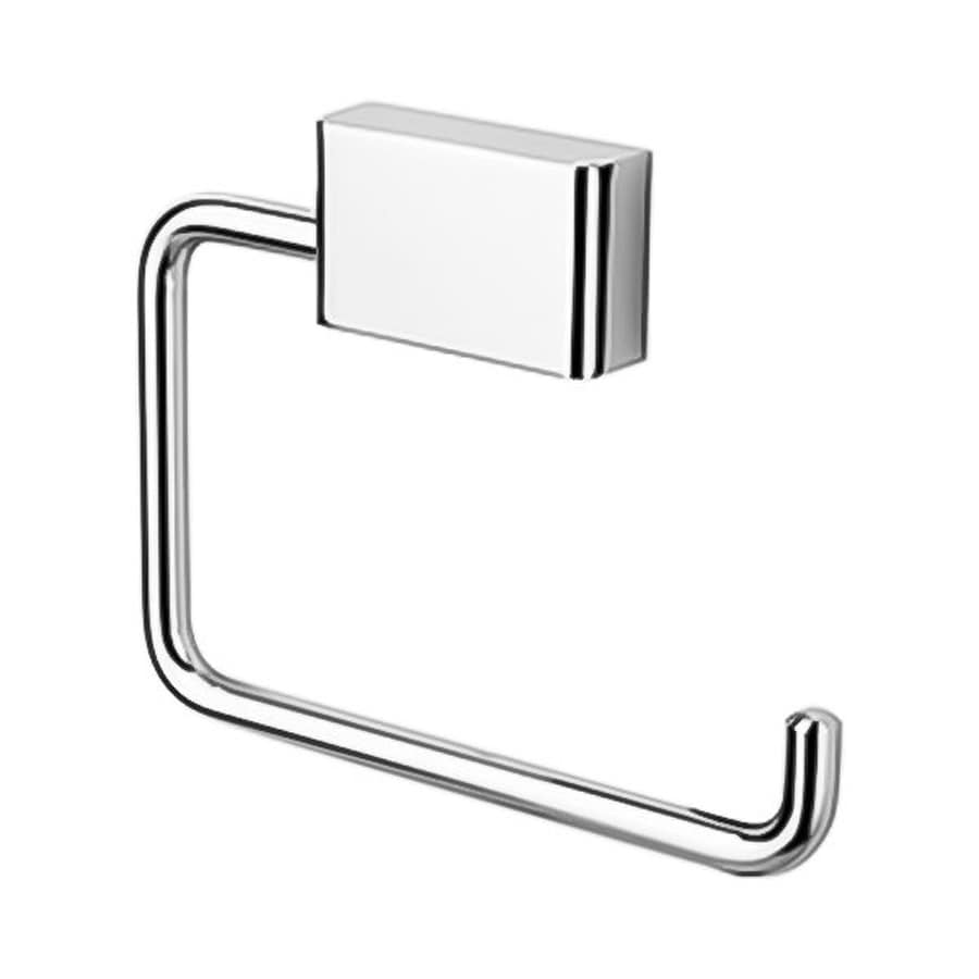 Nameeks Bloq Chrome Surface Mount Toilet Paper Holder