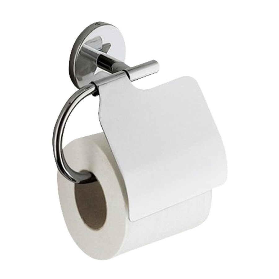 Nameeks Vermont Chrome Surface Mount Toilet Paper Holder