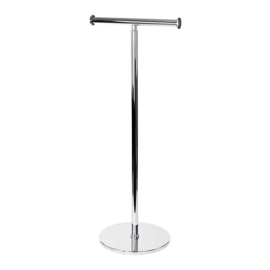 Nameeks Gedy Chrome Freestanding Floor Toilet Paper Holder