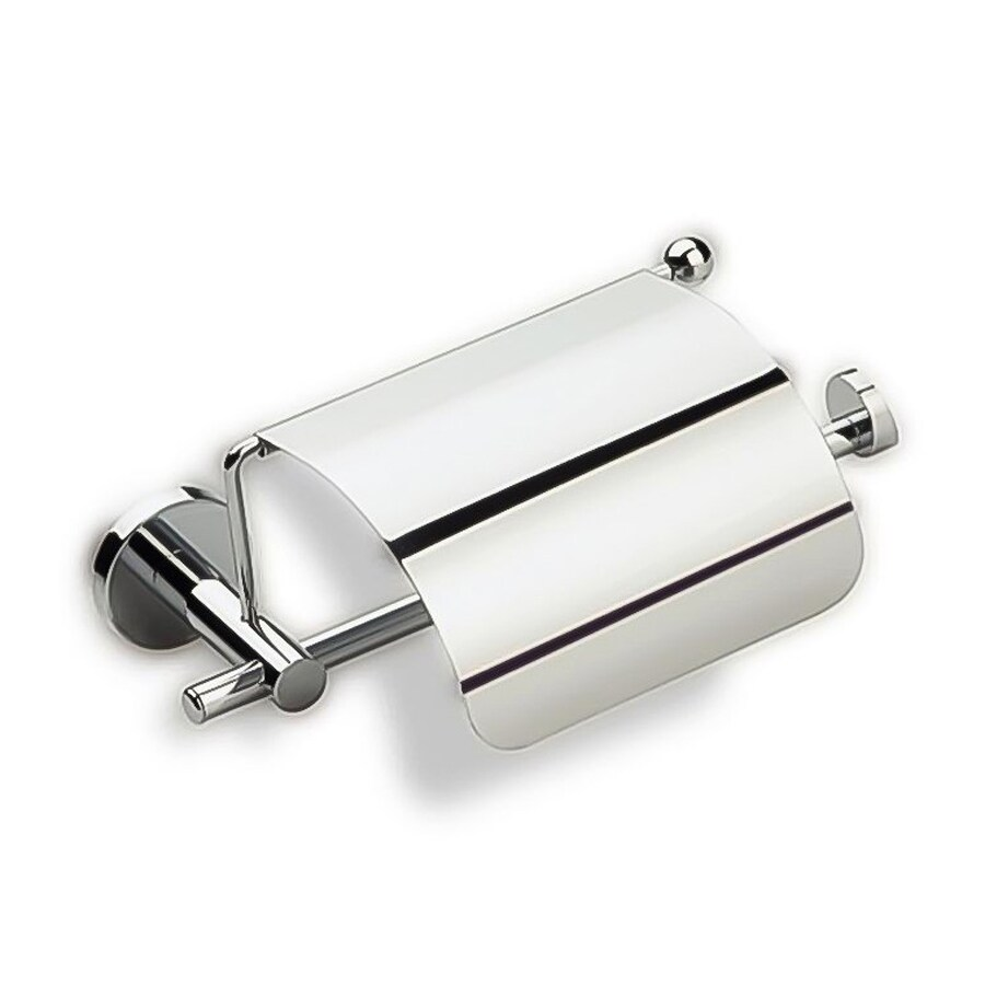 Nameeks Venus Chrome Surface Mount Toilet Paper Holder with Cover