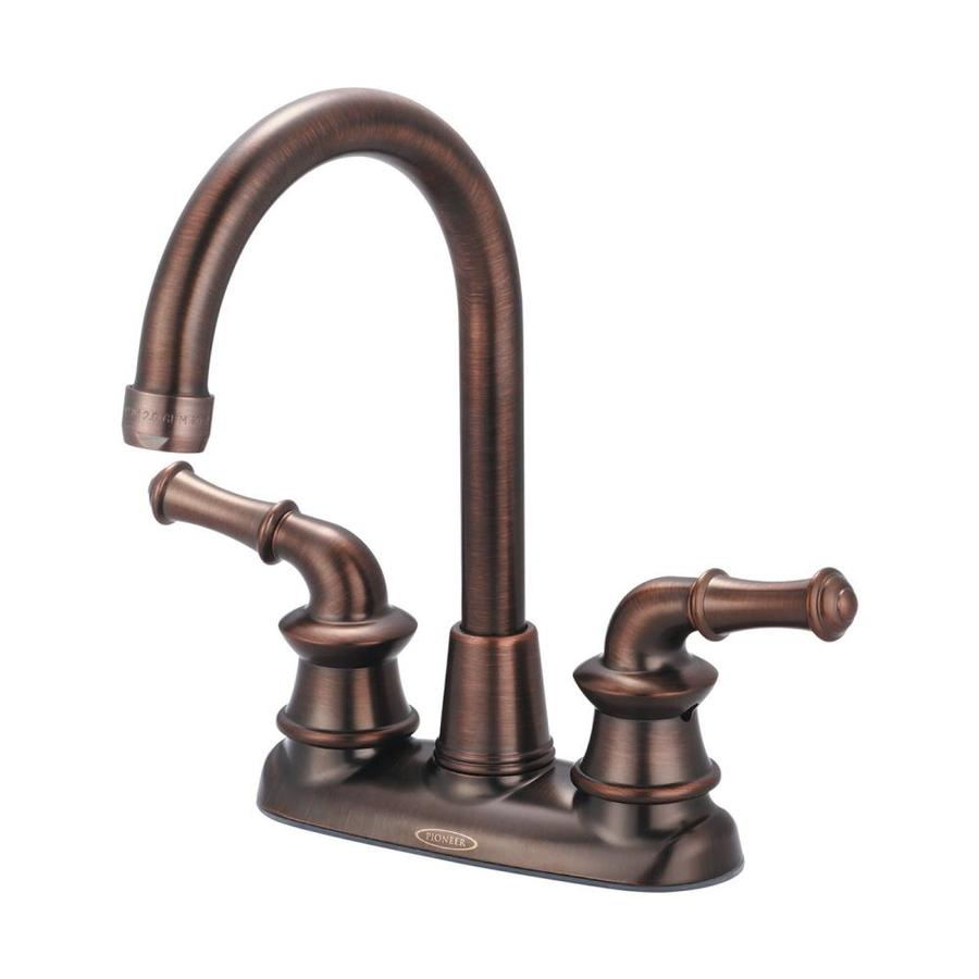 Pioneer Industries Del Mar Oil-Rubbed bronze 2-Handle Kitchen Faucet