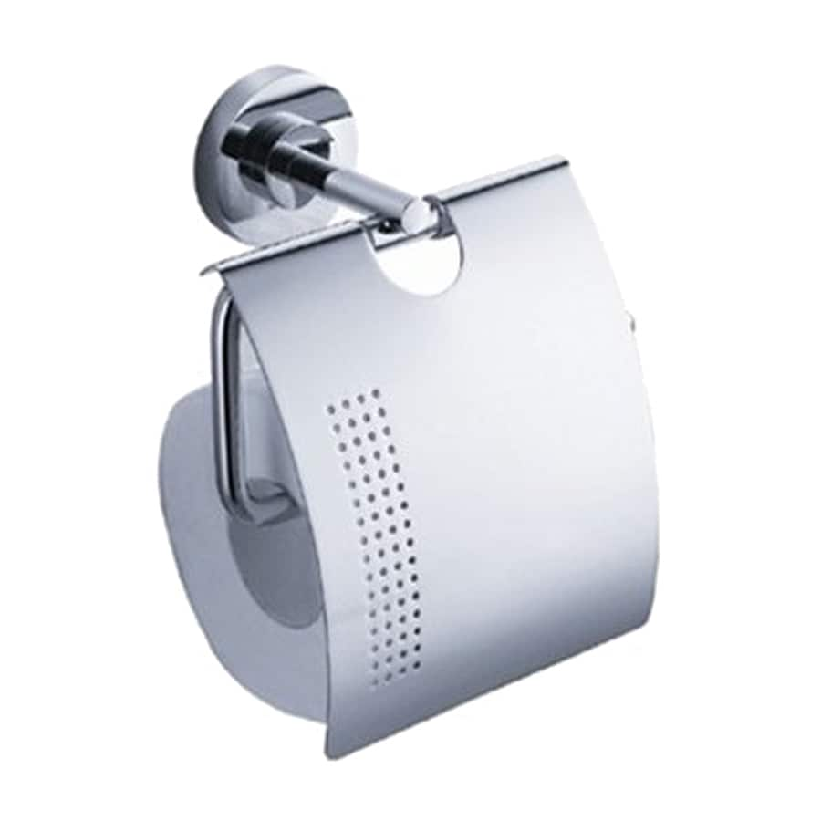 Fresca Alzato Chrome Surface Mount Single Post with Arm Toilet Paper Holder