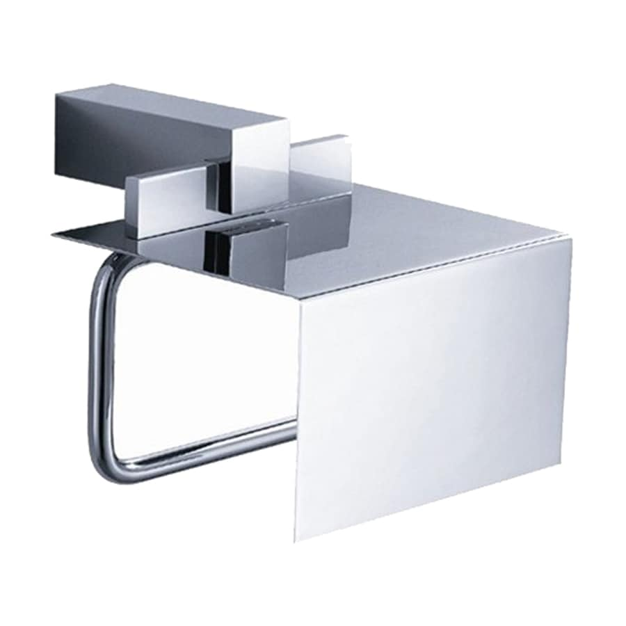 Fresca Ellite Chrome Surface Mount Single Post with Arm Toilet Paper Holder