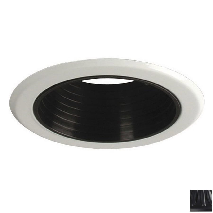 Galaxy Black Baffle Recessed Light Trim (Fits Housing Diameter: 5-in)