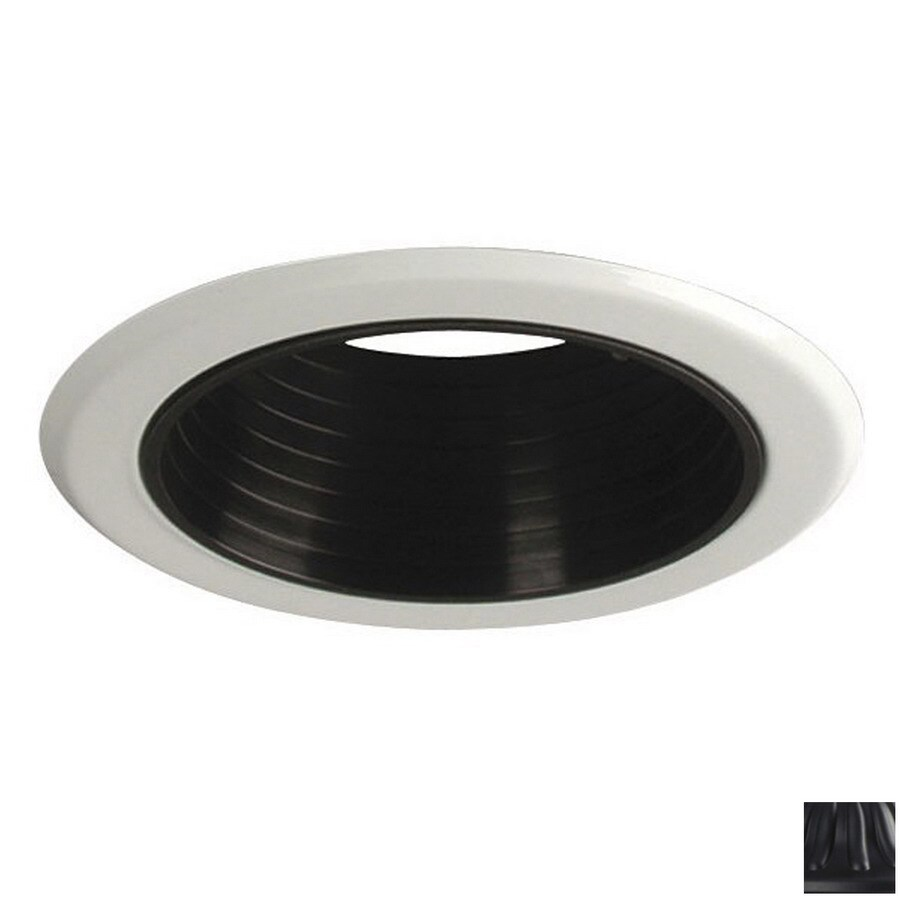 shop galaxy black baffle recessed light trim fits housing. Black Bedroom Furniture Sets. Home Design Ideas